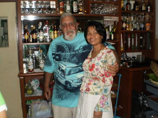 The Family Restaurant: Ovad & his wife