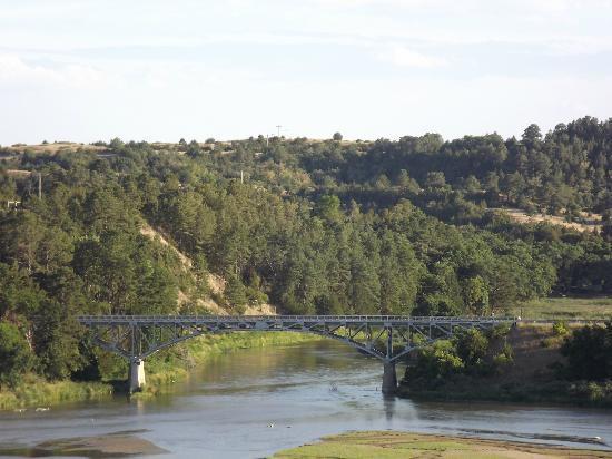 bryan bridge 4 miles south of valentine ne