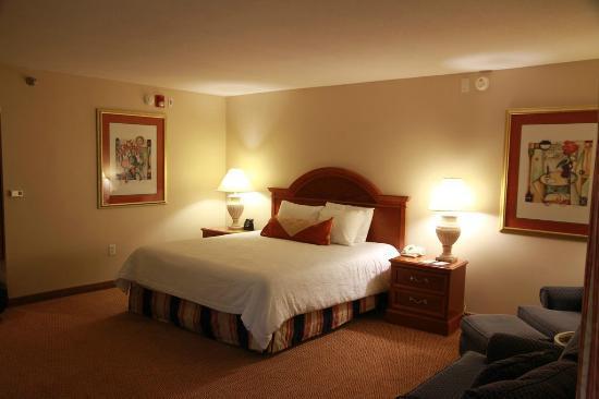 Hilton Garden Inn Syracuse: Comfy bed