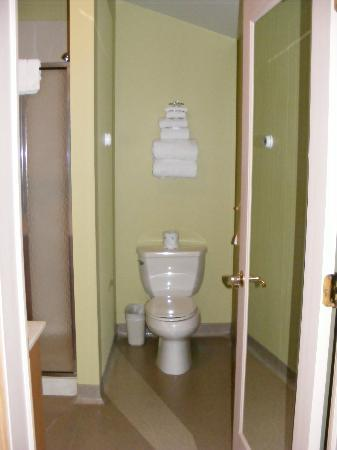 River Rock Inn & Bait Shop: Le toilet
