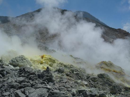 Mount Papandayan : Views from Mt Papandayan Volcano