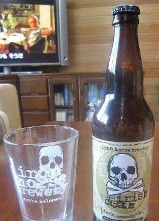 エレンズバーグ, ワシントン州, irish death,this beer is bery good!!