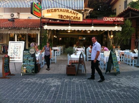 Restaurant Tropicana: Welcoming atmosphere!
