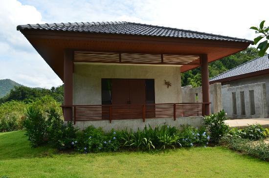 Khaoyai Nature Life & Tours: ons huisje, volledig in beton/cement gemaakt, onze kids hadden er ook eentje.
