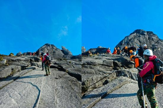 Mountain Torq: On our descent to join walk the torq