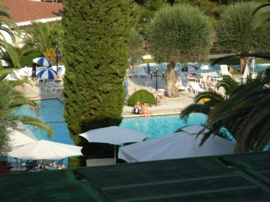 Aquis Park Hotel : View of Pool from Room 224