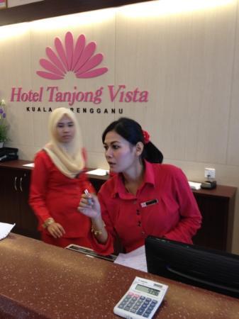 Hotel Tanjong Vista: bad attitude