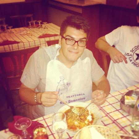 San Domenico: Linguine all'astice :)