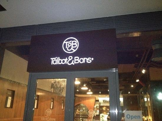 Talbot and Bons: Side entrance!