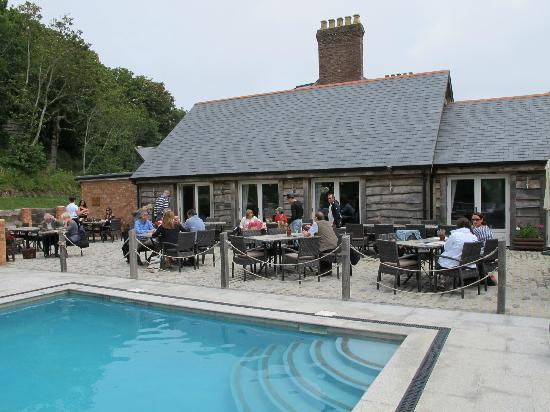 Stocks Hotel: Dining area by the outdoor pool