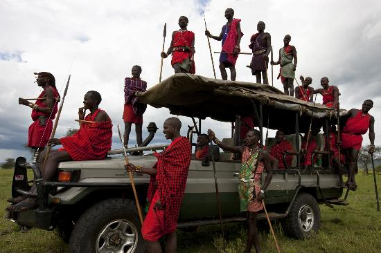 Cottar's 1920's Safari Camp: Maasai guides of Cottars Community
