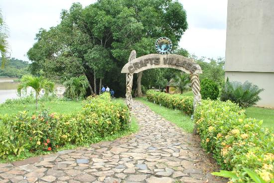Tinapa Lakeside Hotel: gate way to craft centre