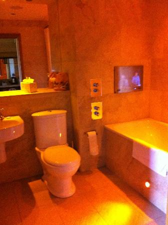 The Crown Spa Hotel: Bathroom