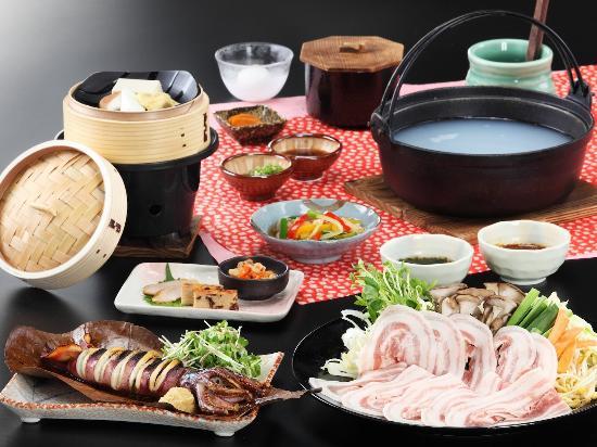 Sengokuhara Shinanoki Ichinoyu: 2012年秋冬標準夕食コース