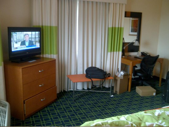 Fairfield Inn & Suites Miami Airport South: View from the bed