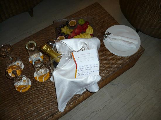 Atlantica Imperial Resort & Spa: Honeymoon gift