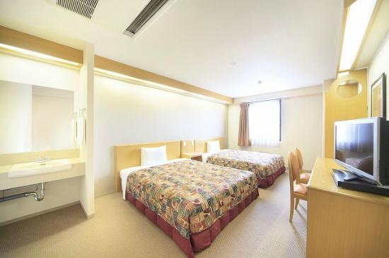 Vessel hotel Fukuyama : ツインルーム(2ベッドルーム)