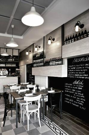 Vista della parete di fondo foto di ristorante la - La cucineria roma ...