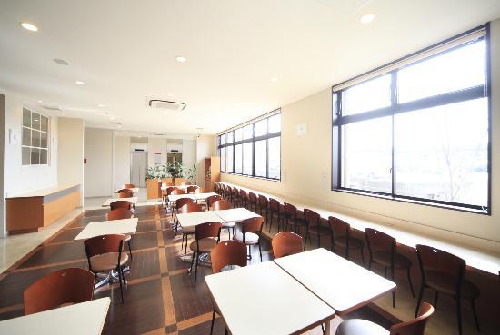 Vessel hotel Kanda Kitakyushu Airport: 朝食会場