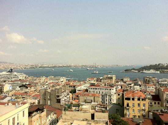Georges Hotel Galata: Spectacular and Uninterrupted Views from the Terrace