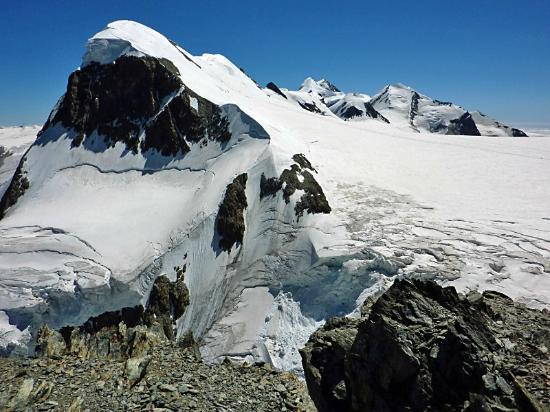 Breithorn 4164m. vom Kl.Matterhorn aus gesehen