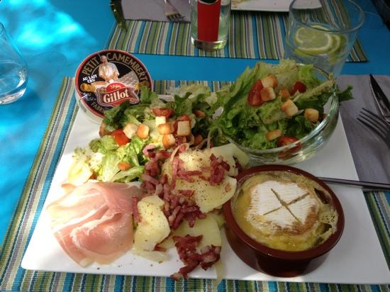 La Recre Gourmande: salade paysanne