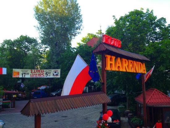 Hotel Harenda: Entrance