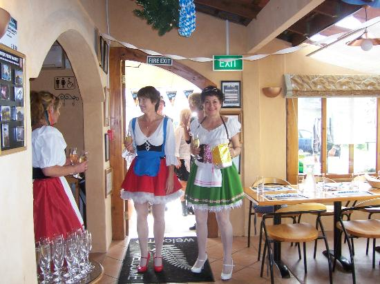 Waitete Restaurant, Cafe and Ice Creamery: from last years Octoberfest..dressup a must