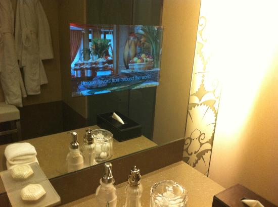 Bathroom With Tv Screen Smart Mirror Picture Of Al