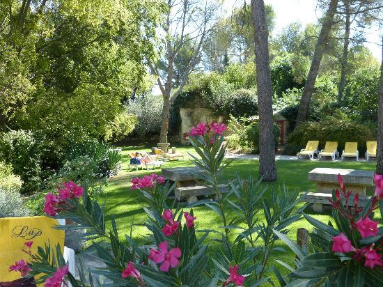La Peiriero: Jardin