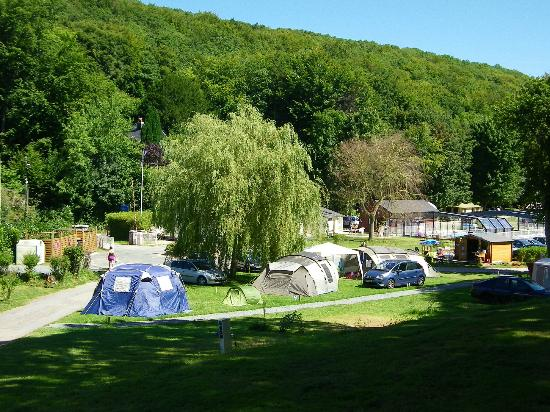 Vue d 39 ensemble du camping picture of flower camping la for Hotels yport
