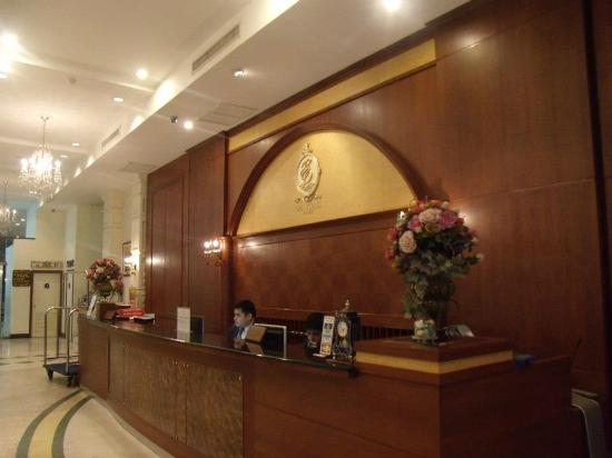 The Ecotel Bangkok: Reception Area