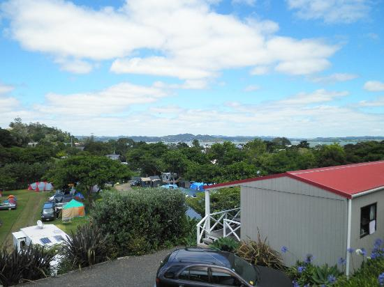 Russell TOP 10 Holiday Park: View of Russell from Holiday Park