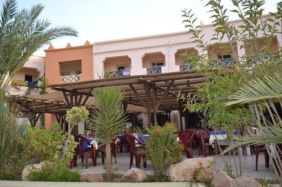 Safira Palms Hotel & Spa: La terrasse.