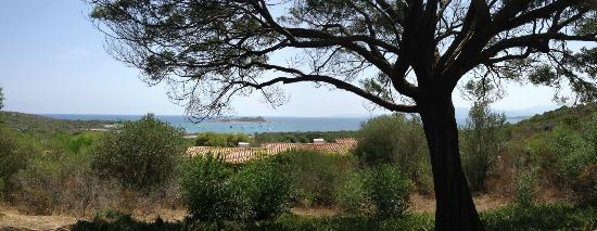 Residence Baia Salinedda: foto scattata dalla terrazza