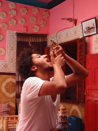 Hostel Riad Marrakech Rouge : Ali