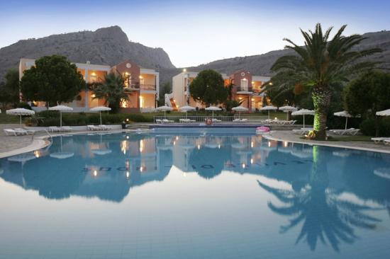 Ville di Lindos : Pool