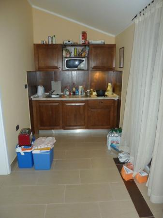 Melia Istrian Villas: very small kitchen