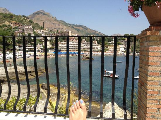 Belmond Villa Sant'Andrea: A view from the pool