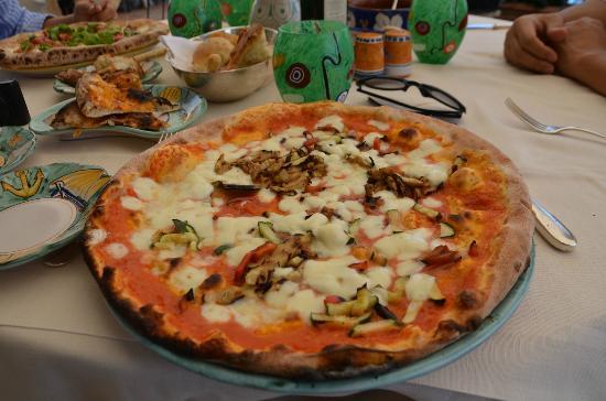 Belvedere Restaurant: Very good pizzas