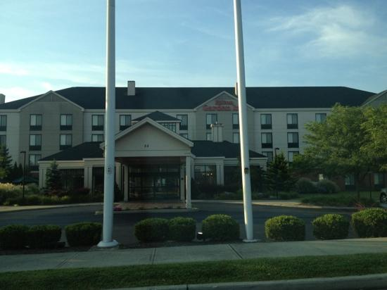 Hilton Garden Inn Poughkeepsie/Fishkill: Upon Checkout