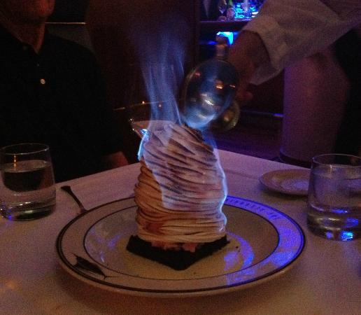 Baked Alaska will easily serve 4!!! - Picture of The Oceanaire ...