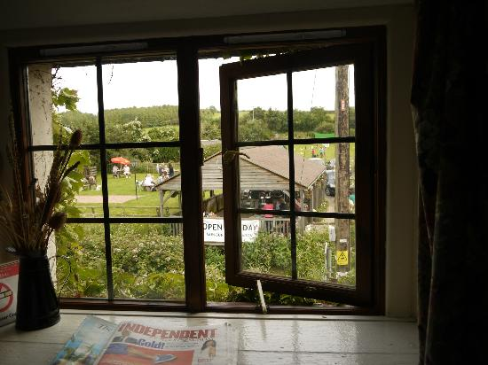 The White Horse Inn: view from room 5