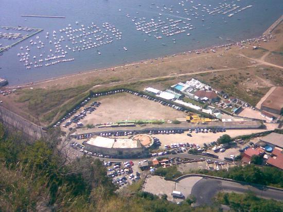 Parco Virgiliano: spiaggia coroglio