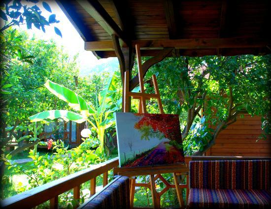 Baraka House: balcony