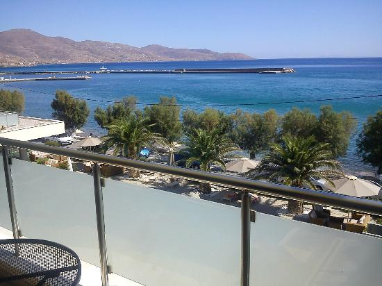 Anastasia Hotel Karystos: Θέα θάλασσας από το δωμάτιο