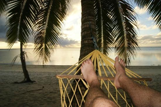 Aitutaki Beach Villas: Hammock