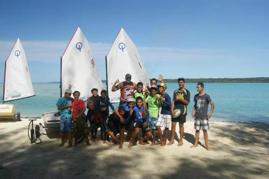 Aitutaki Beach Villas: Sailing club