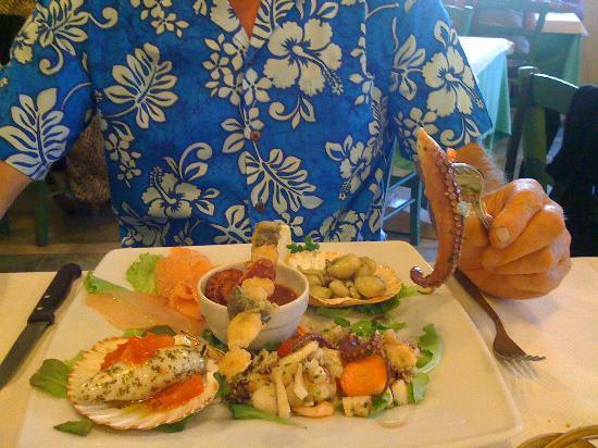 La Casa Matta: Alien Seafood starter!