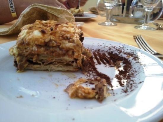 Hotel Lo Squalo: Una torta BUONISSIMA!
